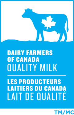 The Dairy Farmers of Canada logo – Our certification of origin