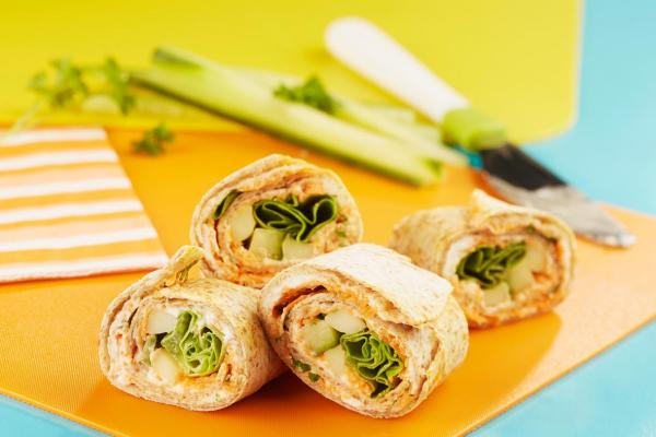 Tortilla Sushi Roll