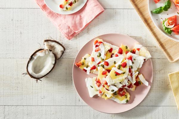 Snack yogurt bark