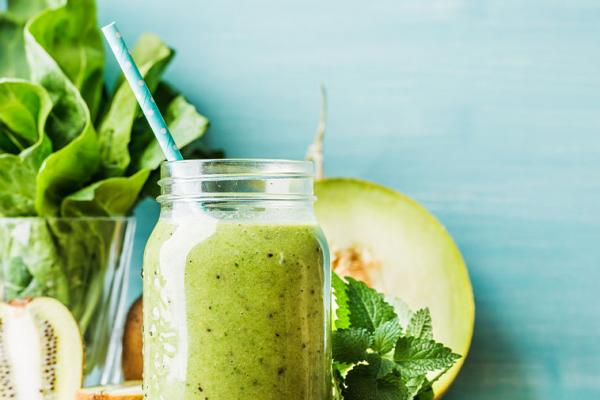 Honeydew, Apple and Avocado Smoothie