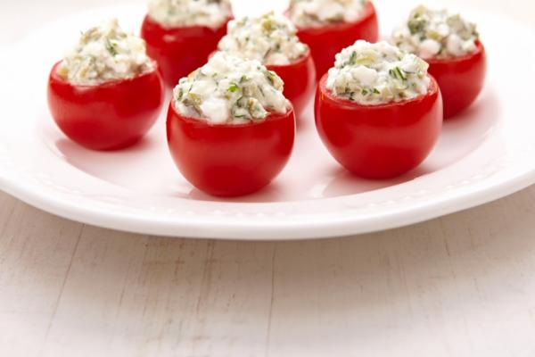 cottage cheese stuffed tomatoes