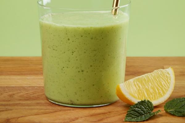honeydew apple and avocado smoothie