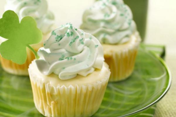 St. Patrick's Day recipe: Wee leprechaun cheesecakes