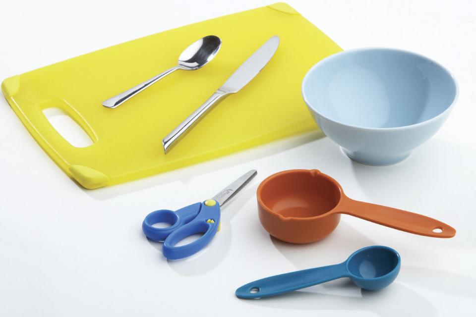 Ali Baba Salad utensils