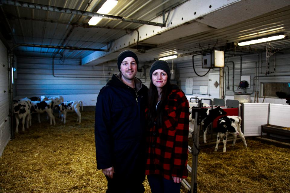 Richard and Michelle, dairy farmers from Manitoba