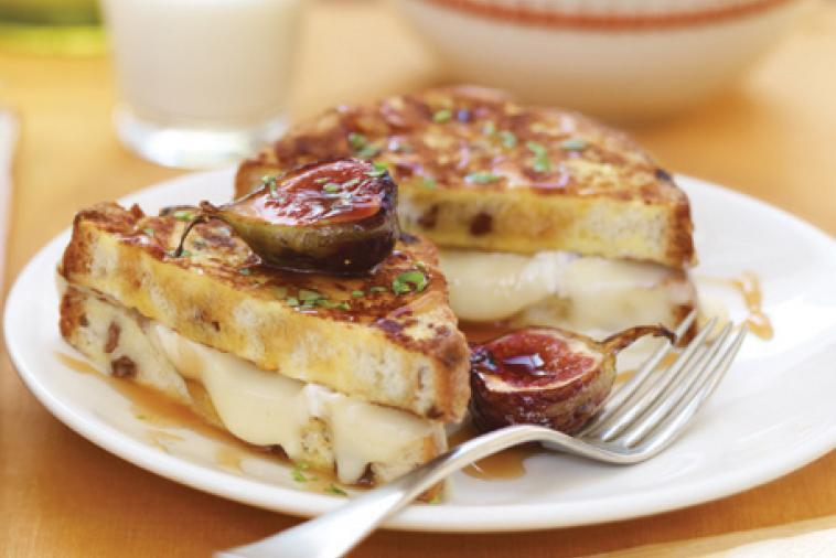French toast grilled cheese