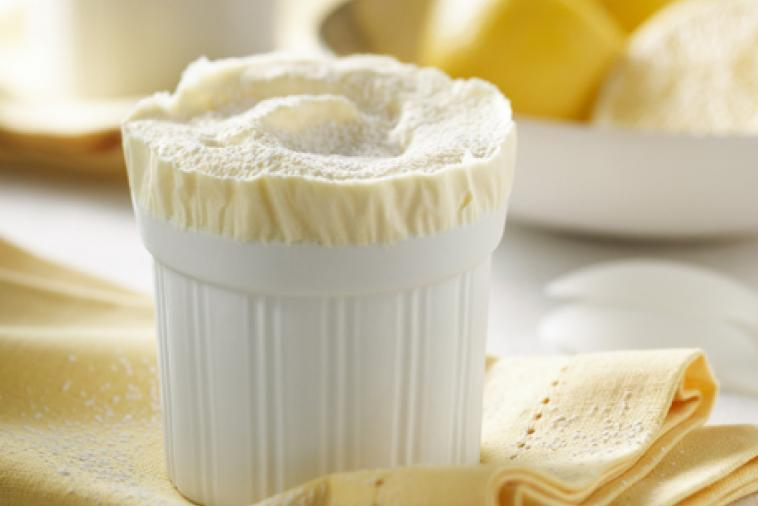 Frozen Lemon Soufflé