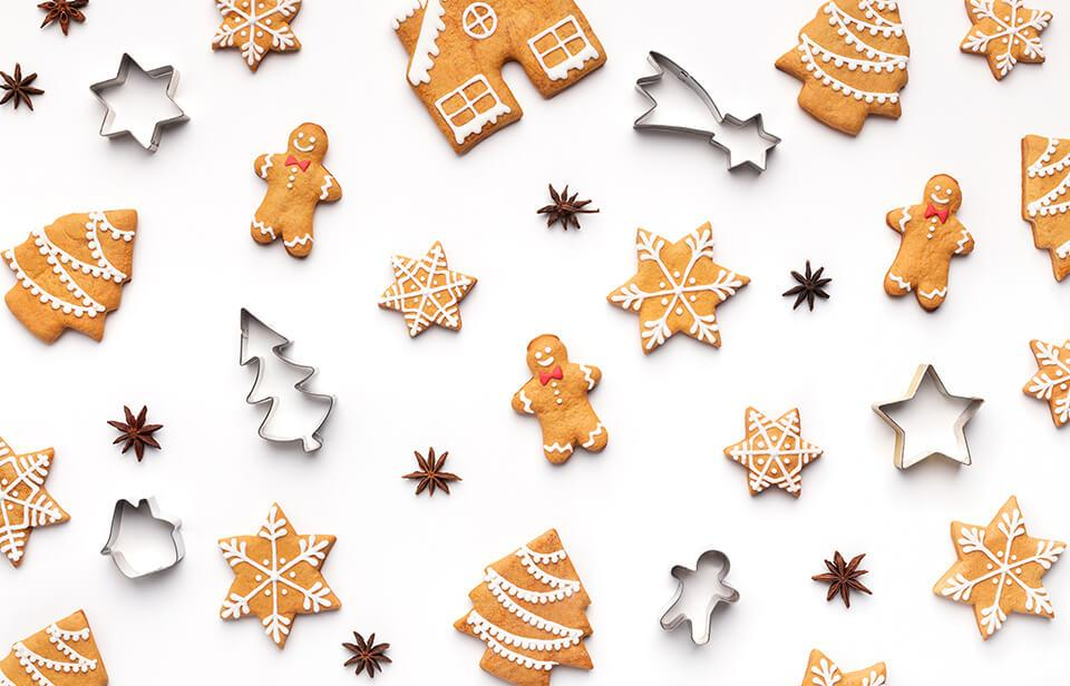 Gingerbread cookies, the perfect treat for a cookie exchange
