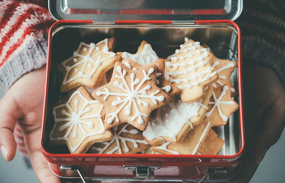 Gingerbread cookies: a Christmas baking activity for kids