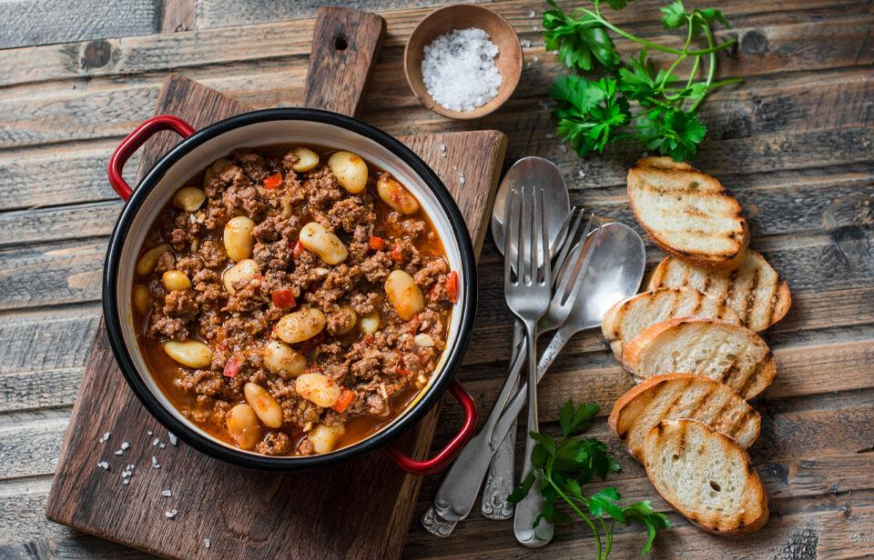 Stews are great for batch cooking