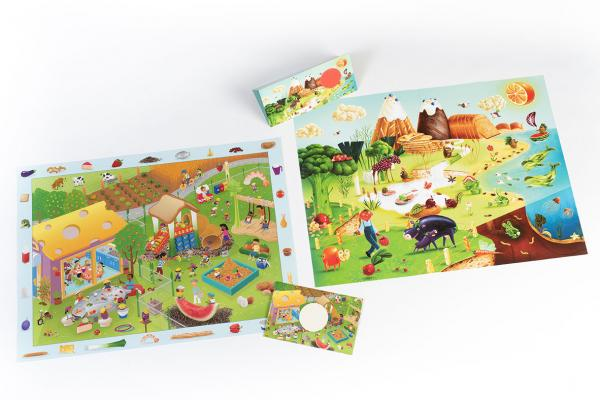 Posters and activity leaflets for children