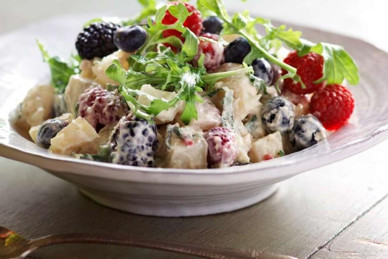berry delicious potato salad