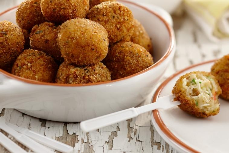 catalan style crab fritters