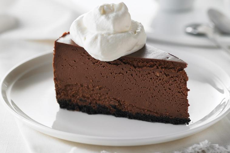 chocolate fudge truffle cheesecake