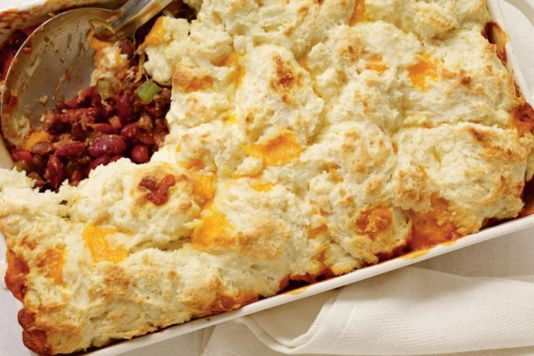 colby and chili cobbler