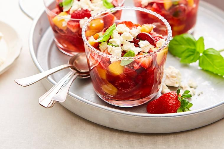fruit feta gazpacho