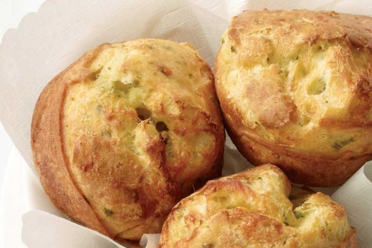herb swiss popovers
