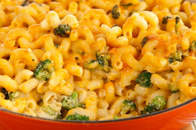 mac cheese with broccoli