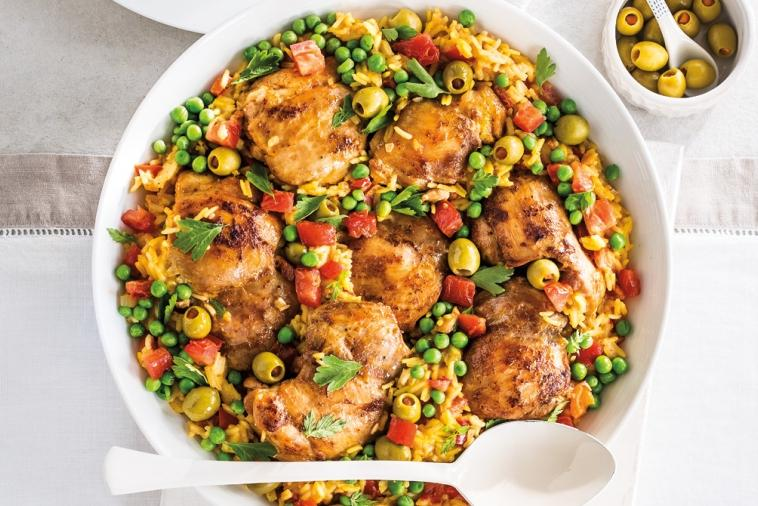 spanish chicken and rice supper