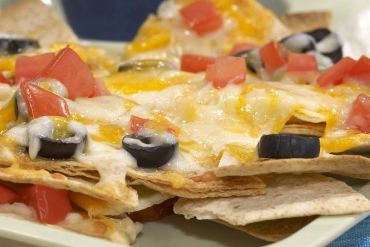 whole wheat nachos